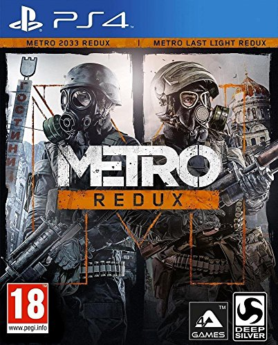 Deep Silver Metro Redux, PS4 Básico PlayStation 4 Inglés, Francés - Juego (PS4, Básico, PlayStation 4, Acción, M (Maduro), Inglés, Francés, 4A Games)