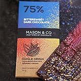 #7: Mason & Co. 75% Dark Bittersweet Chocolate Bar, 70G