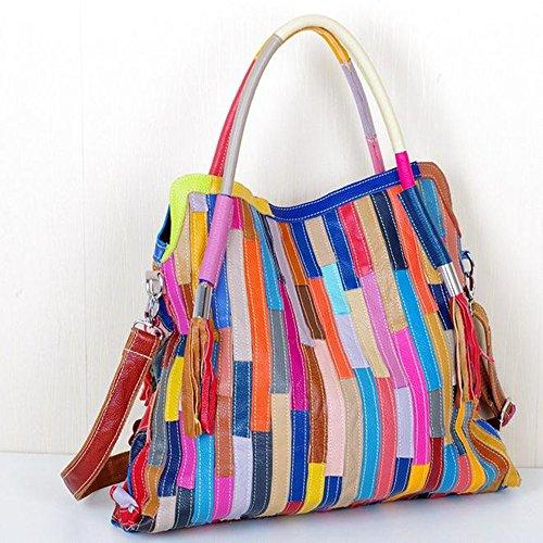 Eysee, Poschette giorno donna Multicolore Multicolore 45cm*40cm*9cm Multicolore