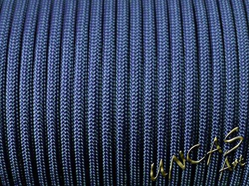 Original bracelet en paracorde 550 tYPE 3–30 m corde couleur : bleu marine/bleu)