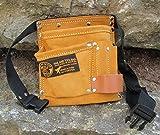 Kinder Werkzeuggürtel Werkzeugtasche Echtes Leder