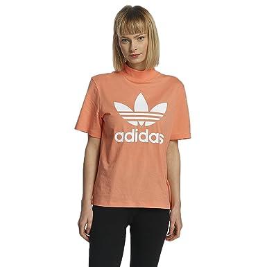 adidas damen oberteile t-shirt mit streifen