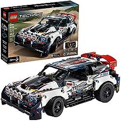 LEGO Technic 42109 - La Voiture de Rallye Top Gear Contrôlé par l'application (463 pièces)