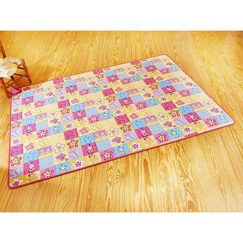 Kinderteppich Butterfly Spielteppich bunt | 100971, Größe:133x190