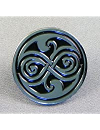 Metal Enamel Pin Badge Doctor Dr. Who Seal of Rassilon (Rasillon)