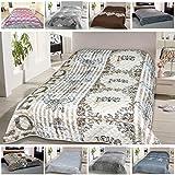 Tagesdecke, gesteppter Bett- und Sofaüberwurf 220x240cm (Vintage Love)