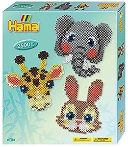 Hama 10.3241Animal Faces Craft Set