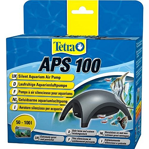 Handwerker Air (Tetra APS 100 Aquarienluftpumpe, anthrazit)