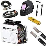 STAHLWERK ARC 200 MD IGBT Vollausstattung - Schweißgerät DC MMA/E-Hand Welder mit echten 200 Ampere sehr kompakt, weiß…