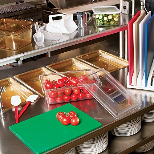 Rubbermaid FG331000CLR Food Box Lid for 18 In X 12 In Clear, 0.51 Inch x 4.724 Inch x 4.724 Inch