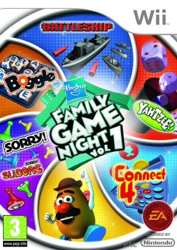 Hasbro Family Game Night Wii Amazoncouk PC Video Games