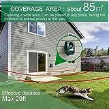 2er-Set AngLink Solar Katzenschreck Ultraschall abwehr mit Batteriebetrieben und Blitz - 7