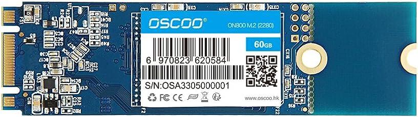 OSCOO Digital mSATA (6Gbit/s) Solid-State-Drive / SSD-Festplatte für Notebooks, Tablets und Ultrabooks 60GB 60GB-M.2