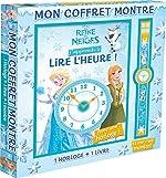 La Reine des Neiges, J'APPRENDS A LIRE L'HEURE + MONTRE de Hachette Jeunesse
