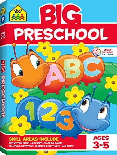 Big Preschool (Big Get Ready Workbook)