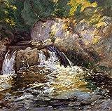 Das Museum Outlet–Wasserfall, 1898, gespannte Leinwand Galerie verpackt. 40,6x 50,8cm