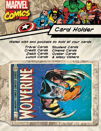 GB eye Marvel Wolverine Card Holder
