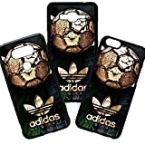 Funda de Movil Carcasa de Moviles Fundas Carcasas de TPU Compatible con el movil Samsung Galaxy S8 Plus Marca Adidas Originals Balon Deporte