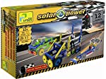 Build your own solar-powered models and discover how solar cells generate electricity from light.-Build 12+ solar powered models including a Vehicle Jeep, Crane, bulldozer, Lift, Bridge, Fork Lift etc.-Allowing you to switch out the solar panel for a...