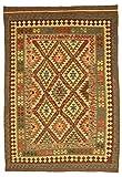 Kelim Afghan Teppich Orientalischer Teppich 237x168 cm Handgewebt Klassisch