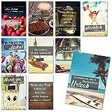 20er Postkarten-Set mit schönen Sprüchen in bunt I dv_364 I Format DIN A6 I Spruch-Karten mit Motiv I zum Dekorieren, Beschriften und Verschicken