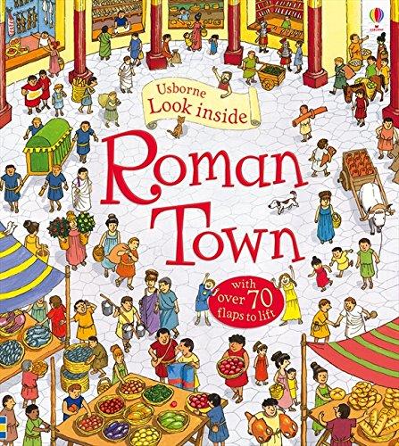 Look Inside Roman Town. Ediz. illustrata por Conrad Mason
