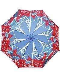 Marvel Comics–Spiderman paraguas con mango curvado)