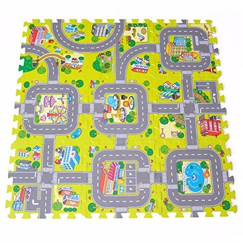 930x 30cm Baby Play Mat, Soft Foam Puzzle, Baby Krabbeldecke, EVA Spielen Spiel Boden Teppiche, Kinder Playhouse Pad, indoorexercise Bodenmatten für, Interlocking Fliesen Schutz Bodenbelag Matte