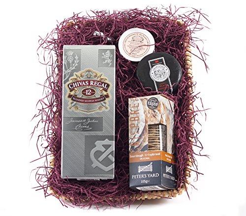 Chivas Regal Whisky behindern | wickers Geschenk Korb - Wicker Regal Korb