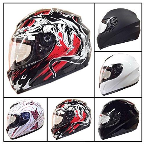 Leopard LEO-819 Full Face motocicleta motocicleta...