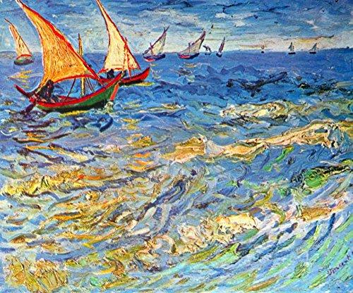 Das Museum Outlet-Das Meer in saintes-maries von van Gogh-Poster (61x 81,3cm)
