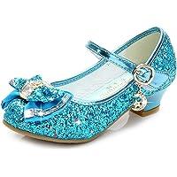 Scarpe da Principessa, Bambina Ballerine Ballo Scarpe Premio Diamante Paillettes Bling Scarpe Principessa Eleganti Anti…