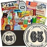 Geschenke 65 Geburtstag Frau | Geschenkidee | 24x Allerlei |Geschenk zum 65.
