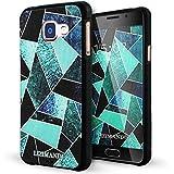 Galaxy A3 2016 Coque,Lizimandu 3D Motif Tpu Silicone Gel Étui Housse Protection Shell Cover Case Pour Samsung Galaxy A3 2016(Fragment Vert/Green Fragment)