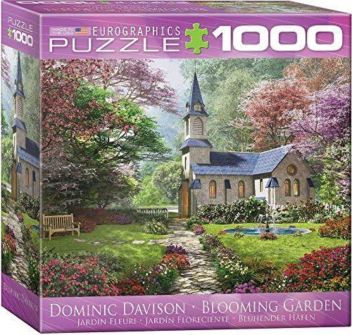 Eurographics 8000–0964 Blooming Jardin Puzzle Puzzle Puzzle (Lot de 1000) 806240