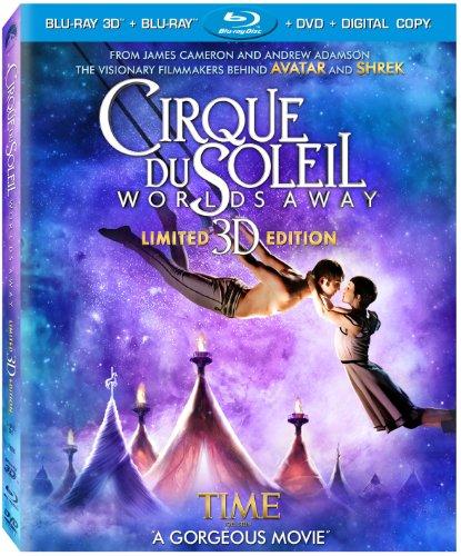 Cirque Du Soleil - Worlds Away (Three-Disc Combo: Blu-ray 3D / Blu-ray / DVD / Digital Copy) (Tv-dvd-bluray-combo)