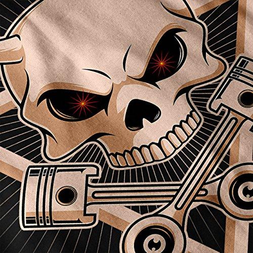 Satan Visage Effrayant Crâne Femme S-2XL Sweat-shirt | Wellcoda Noir