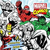 Marvel Comics Colouring Official 2018 Calendar - Square Wall Format