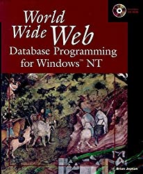 World Wide Web Database Programming for Windows NT by Brian Jepson (1996-06-06)