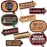 Best Buffalo Arrows - Big Dot of Happiness Funny Lumberjack - Channel Review