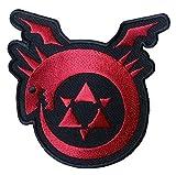 Anime Manga FMA Full Metal Alchemist Brotherhood Uroboro Logo Applique 3.5 Patch