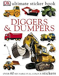 Diggers & Dumpers Ultimate Sticker Book (Ultimate Stickers)