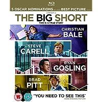 The Big Short [Blu-ray] [2015] UK-Import, Sprache-Englisch.