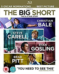 The Big Short [Blu-ray] [2015]