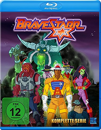 Bravestarr - Gesamtbox inkl. Legende - New Edition [Blu-ray]