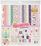 """Echo Park Collection Kit 12""""X12""""-Once Upon A Time Princess"""