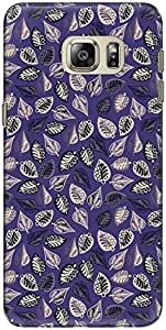 The Racoon Lean printed designer hard back mobile phone case cover for Samsung Galaxy Note 5. (Violet Orn)