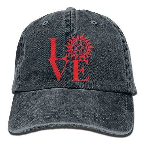 Have You Shop Men and Women Love Supernatural Vintage Jeans Baseball Cap