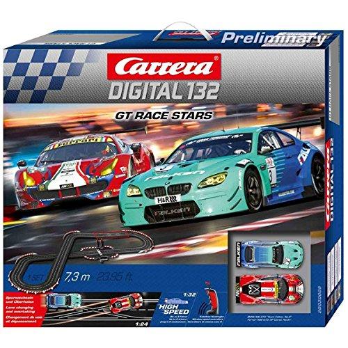 Carrera Digital 132 - GT Race Stars circuito de coches (20030005)