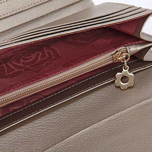 Lady 30 per cento intorno portafoglio Velcro/Portafogli elegante grande capacità per le donne in Giappone e Corea del sud borsa a mano-B A